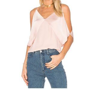 BAILEY 44 Kate blush Draped Camisole Top